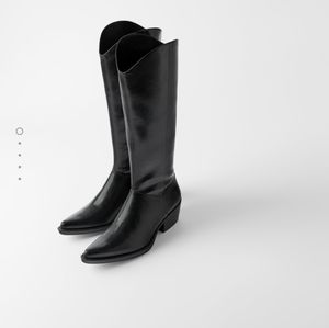 Zara Shoes - ZARA cowboy boots new